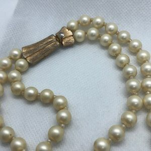 Judy Lee Jewelry - VTG Judy Lee Double Stranded Faux Pearl Necklace